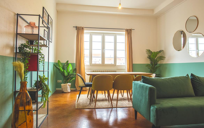 colive-coliving-collocation-maison-partagée-collocataires-Bruxelles-Alameda-salle-à-manger-moderne-et-meublé