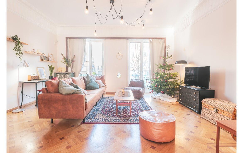 colive-coliving-collocation-maison-partagée-collocataires-Bruxelles-Bergmann-salon-moderne-équipé